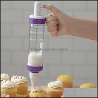 Baking Bakeware Kitchen, Dining Bar Home Gardeking & Pastry Tools Cake Butter Decorating Mouth Set Squeeze Tube Cookie Tool Cream Reusable C