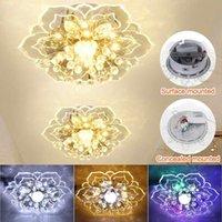 Ceiling Lights 20cm Crystal LED Light Modern Embedded Or Surface Mount Nordic Lamp Home Corridor Decoration Fixture Lighting