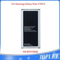 Toptan Fiyat !! Yüksek Kalite 3220 MAH EB-BN910BBE Batarya Samsung Galaxy Not 4 N910 Not4 Piller