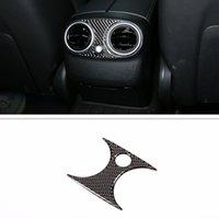 Auto interno bracciolo posteriore Aria condizionata Outlet Trim Cover Vent Sticker Fit For Mercedes Benz C e GLC Class W205 W213 x253