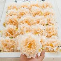 Simulazione Peony Flowers Testa Sfondo da sposa Flower Wall Row Teste decorative Seta artificiale FAI DA TE Floral Centerpieces Decorazione FWA4538