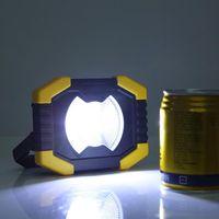 Luz de trabajo LED LED de energía solar Lámpara de camping de carga USB REMY889 Linterna portátil