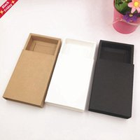 20pcs Kraft Paper Drawer Boxes Wedding Party Candy Gift Box For Handmade Soap Craft Jewel Packaging Wrap