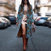 Giacca da donna vintage bottoni tasche calde a maglia cappotto lungo cappotto donna cappotti cappotti moda moda inverno donne miscele di lana streetwear m90a #