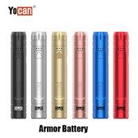 Authentic Yocan Armor Battery 380mAh Slim Preheat VV E Cig 510 Adjustable Voltage Vape Pen With Display Stand 100% Original