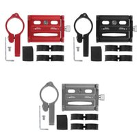 Car & Truck Racks Aluminium Alloy Mobile Phone Holder Clip Portable Motorcycle Bicycle Fixed Bracket Support GPS Accessory