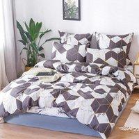 Установки постельных принадлежностей Alanna X Series 06-2 Печатный твердый Домашний набор 4-7 шт. Высокое качество Прекрасный узор с звездным деревом