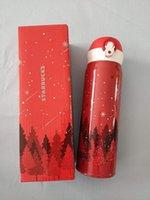 500ml Starbucks Becher Edelstahl Vakuumflasche Water Cup Bester Weihnachtsgeschenk mit Paketkasten