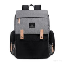 Land Mommy Backpacks Nylon Nappy Bags Landuo Mother Maternity Diaper Backpack Large Volume Outdoor Travel Bags Organizer Mpb86