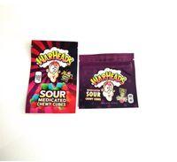 2021 500 mg Çanta Satış Ekşi Tatlı Meyveli Chewy Küpleri Yadında Gummies Warheads Şeker Paket Çanta SGG