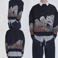 Designer 3D Sweather Sweater Sweater Sweater Solto Loxo Pullover Trewneck Imprimir Hip Hop Hop Hop Sweetshirts Homens Casuais Roupas Casuais Homens Botão Mens Plam
