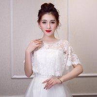 Wraps & Jackets Off The Shoulder Wedding Jacket Wrap Bridal Bolero Lace Shawl Bride Coat Accessories Custom Made