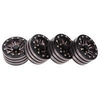4 pcs 1,9 polegadas cubo de roda para 1/10 traxxas hsp redcat tamiya axial scx10 d90 hpi 4wd rc rastreador carro