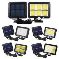 Waterproof PIR Security Wall Light 100 LED Outdoor Solar Power Motion Sensor Garden Floodlight Street Lighting
