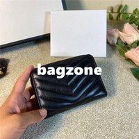 Famoso womens carteiras clássico bolsa de couro feminino retro carteira curta de alta qualidade moeda bolsa de cartão preto