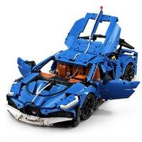In magazzino 13125 Nuova serie Blue Speed Racing Automobile Assembly Modello Bambini Giocattoli di Natale Giocattoli Regali Building Blocks Bricks 20086 42083