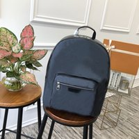 2021 Классический дизайнер мужчина студент рюкзаки для мужчин натуральная кожа двойная сумка на плечо ПВХ дизайн сумка школа рюкзак ноутбук, d013