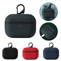 AirPods Pro Protective Cases Nylon Bags Covers for Apple 3rd Generation Bluetooth Earphones Anti-drop and Anti-lost Package