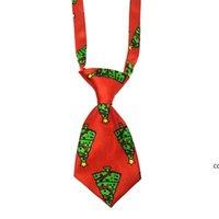 Christmas Pet Supplies Pet Dog Cat Xmas Neckties Bowties Santa Deer Dog Apparel Grooming Accessories Small-Middle Ties DHE8607