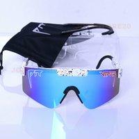 01 Das 1993 polarisierte doppelte breite Pit Viper Sonnenbrille Sport im Freien Skibrillen auf Sal H35Q