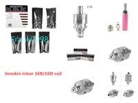 Innokin Bobina para Iclear 16 Clearomizer Reemplazo Dual Iclear16 Atomizer Head 1.8ohm / 2.1ohm
