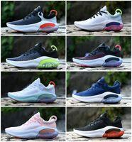 Calidad superior Joyride Run FK Womens Zapatillas para correr Triple Blanco Blanco Be True Platinum Racer Blue Designers Sports Sneakers Utility Jogging Mens Trainers Zapatillaes