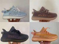 Mono pack v2 chaussures de course hommes femmes chaussure chaussure glace brouillard brume queue lumière carbone 3m statique statique formateurs de réflexion noire rouge zèbre béluga hommes baskets femmes