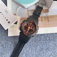 Прибытие Япония G110 Спортивные часы Военные Влияние Марка Час Рука Светодиодный Хронограф Водонепроницаемый Силиконовый Кемпинг