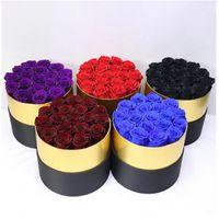 Ebedi Gül Kutusunda Korunmuş Gerçek Gül Çiçekler Kutusu Ile En İyi Anneler Günü Hediyesi Romantik Sevgililer Günü Hediyeler Toptan