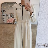 Wavsiyier Sweater Dress Women Elegant Oversized Thick 2021 Vintage Autumn Korean Winter Solid Cute Loose Pullover Knitted Jumper Casual Dres