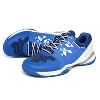 Tennis shoes Blue Lightweight Badminton Volleyball Shoes Men Professional Table tennis Anti Slip Outdoor Sports Training Sneakers 0916
