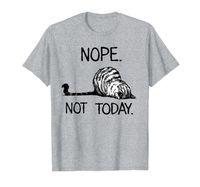 Нету не сегодня забавный ленивый котенок котенка футболка