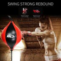 Песчаная сумка бокс фитнес перфорирован шарик тренировочный груша фигура спиральный удар скорость вращается