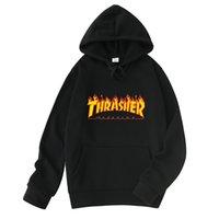 2020 nueva letra de llama Skateboard Hip Hop West Coast Hombre suéter con capucha