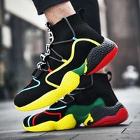 Casual shoes ULMH Casual shoes JG5O New large lovers mesh breathable outdoor comfortable men's sports fashion versatile socks women's S9MZ NZB9