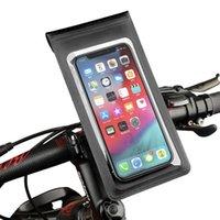 Bike Handlebars &Components Waterproof Road Mountain Phone Holder Bicycle Handlebar Mobile Smart GPS Stand Mount