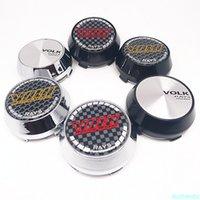4 stücke 60mm 56mm für strahlen Volk Racing Rad Center Hub Cap Auto Styling Cover 45mm Emblem Abzeichen Aufkleber Zubehör