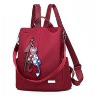 Oxford Ladies Backpacks Waterproof Women Bags Fashion Female Laptop Shoulder Backpack Retro Teenage Girls School Lady 211025