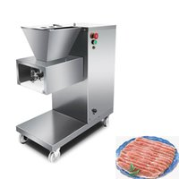 Meat Grinders 500KG H Cut Meatting Machine Stainless Steel Electric Cutter Automatic Slicer Shred Dicing 220V 110V 380V