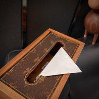 retro Tissue Boxes fashion design paper box luxury high quality Napkins