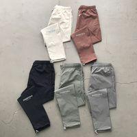 Angst vor Gott Essentials Track Hose Nebelreflektierende Logo Lässige Leichte Hosen Hosen Männer Frauen Hip Hop Streetwear