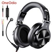 Oneodio A71 게임 헤드셋 스튜디오 DJ 헤드폰 스테레오 이어폰 유선 헤드폰을 통해 PCS4 Xbox One Gamer