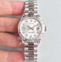 Homens relógios de pulso 28mm senhoras automático tw fábrica relógio ETA 2671 movimento 279160 ladys 279166 279174 279171 perpétuas mulheres data