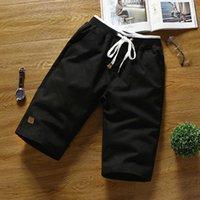 LawrenceBlack Shorts Classic Mens Мода Шорты Лето Корейский Мода Тонкая Нить Пляжные Брюки Мужской Море 210622