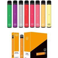 Puf Çubuğu Artı Tek Kullanımlık Vape 80 Renkler E Sigara 800 Puffs 550mAh Pil 3.2 ML Vapes Kalem Taşınabilir Buharlaştırıcı Gerekli Listeyi Belirleyebilir
