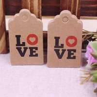 Gift Wrap 100pcs Happy Birthday Tag Nature Color Wood Tags, Wooden Wedding Favor Price Label Party Hang Tags Size Is 5x3cm