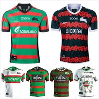 2021 Yeni Güney Sydney Rabbitohs Home Anzac Yerli Rugby Jersey 2020 NRL Rugby League Formalar Şort Avustralya Maillot de Rugby S-3XL