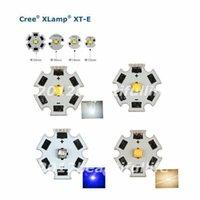 Ampoules 10x Cree XTE XT-E 1W-5W CW / WW / NW / Royal Blue High Power Power sur l'étoile PCB