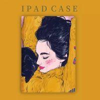 PAT 아트 가죽 스탠드 테이블 PC 케이스 Apple iPad 9.7inch 공기 3 10.5inch Pro 11 미니 5 안티 노크 패션 디자인 소프트 TPU 실리콘 케이스 보호 커버