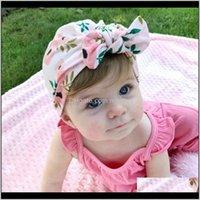 1 Piece Lytwtws Children Flower Bowknot Kids Bow Cap Baby Hat Born Girls Clothes Accessories Infant Beanie Turban Solid1 2Mnit Caps Ha 5Tyhl